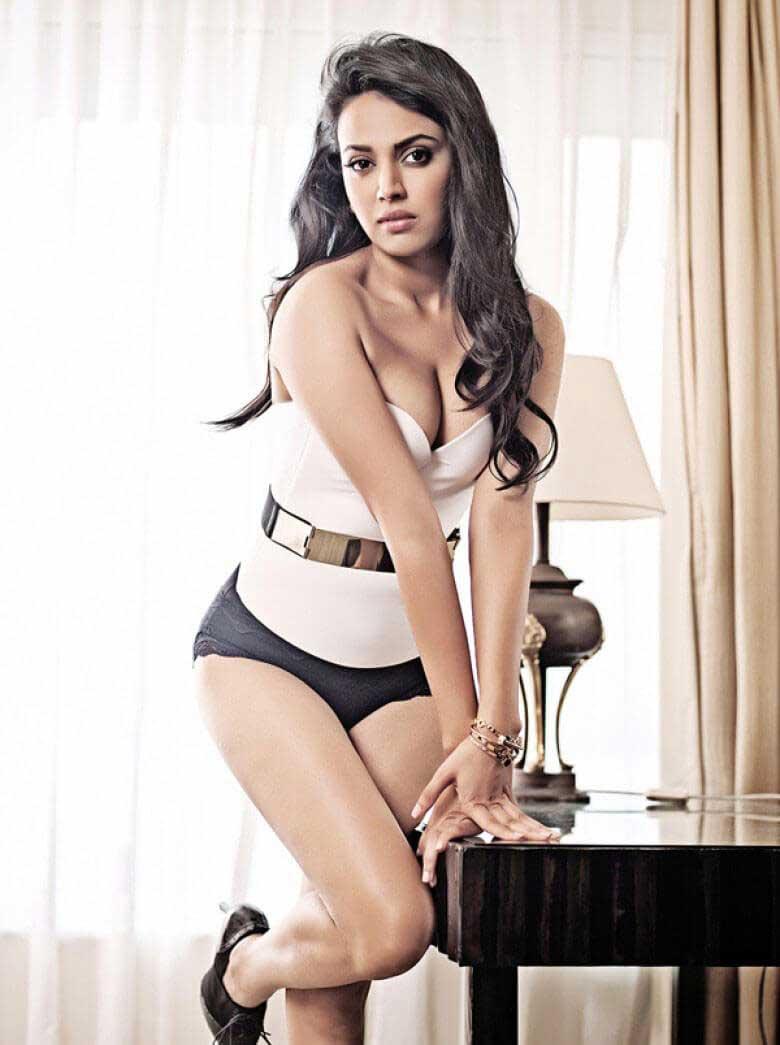 Swara Bhaskar Raising Temperature With Her Bikini Images