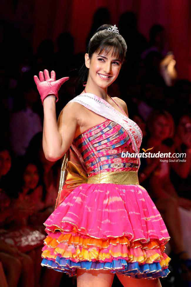 Barbie doll outfit for katrina kaif from ramp walk