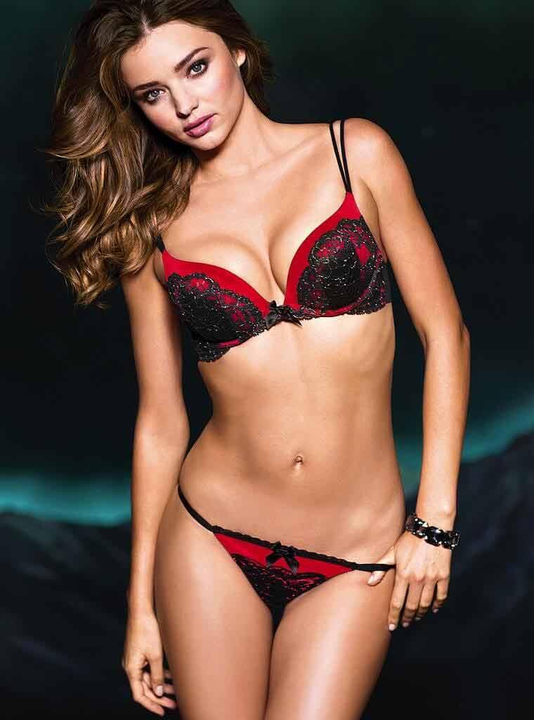 victoria secret model miranda kerr lingerie pictures