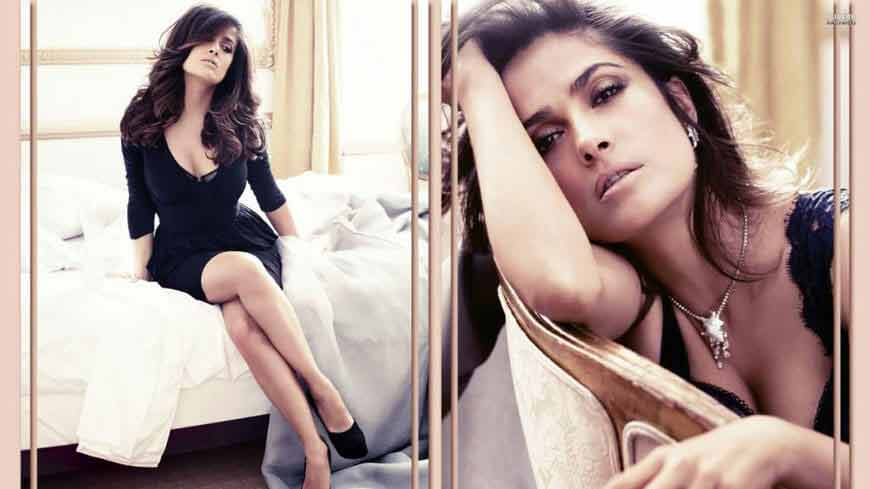 seductive photos of salma hayek in hd