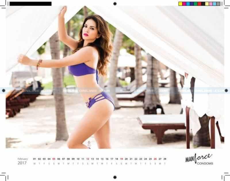 Sunny Leone sizzles in manforce bikini photoshoot