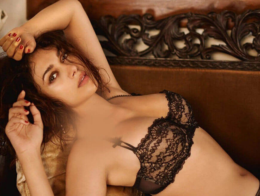 gorgeous actress aditi rao hydari bikini photoshoot