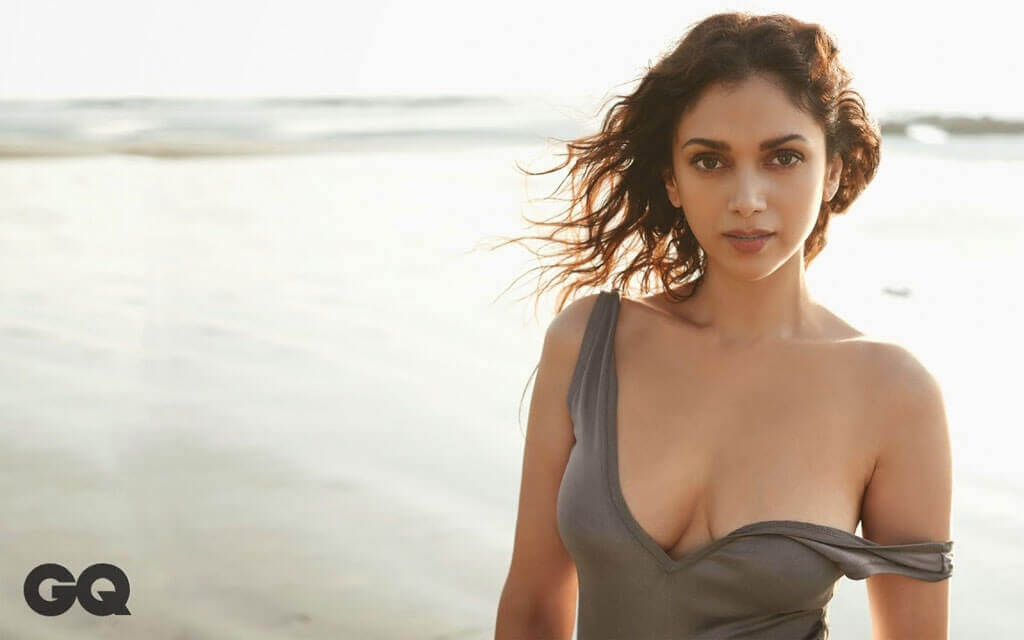 near boobs show pictures of aditi rao hydari