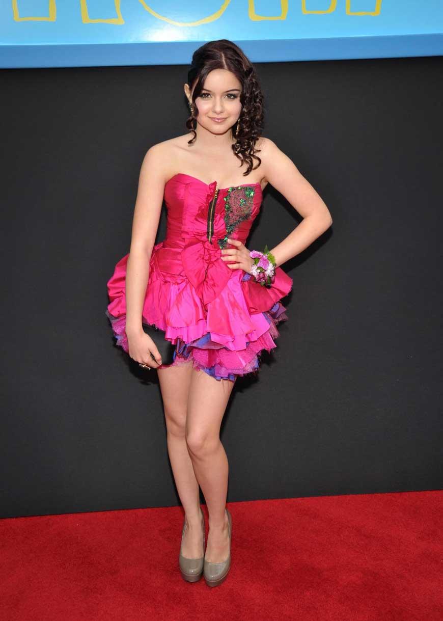 Ariel Winter Looking Hot in Barbie Dress