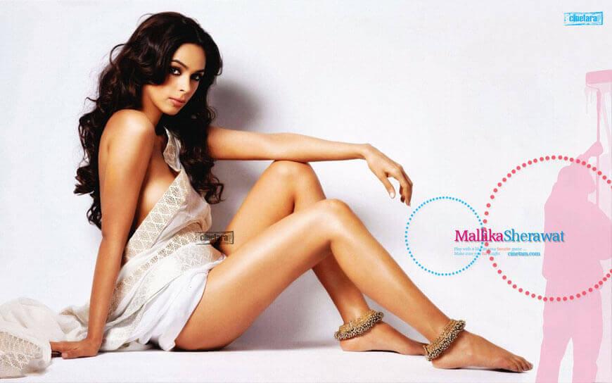 mallika sherawat near nude pics showing her hot ass and long legs