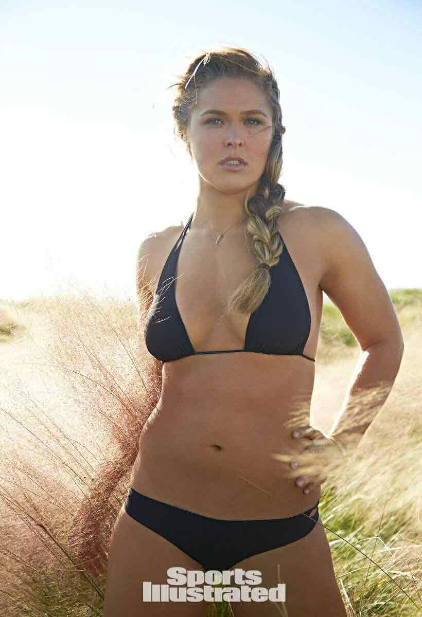 ronda rousey bikini stills show off her sizzling body