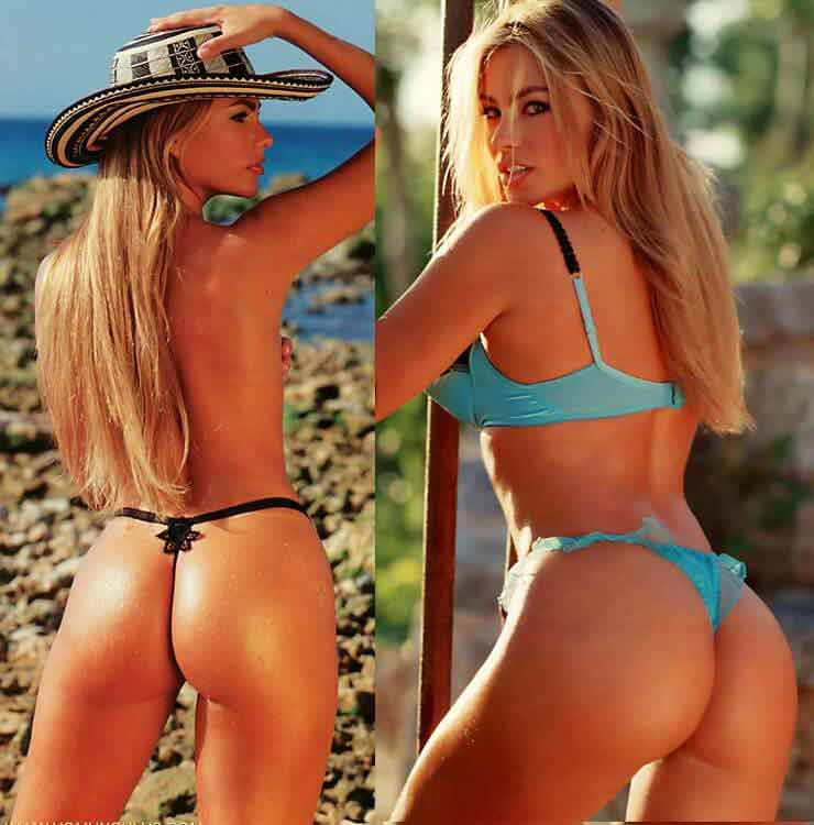Sofia Vergara-thong-images-showing-her-nude-butt
