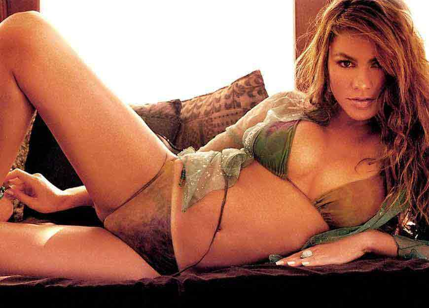 seductive-look-of-sofia-vergara-in-bikini