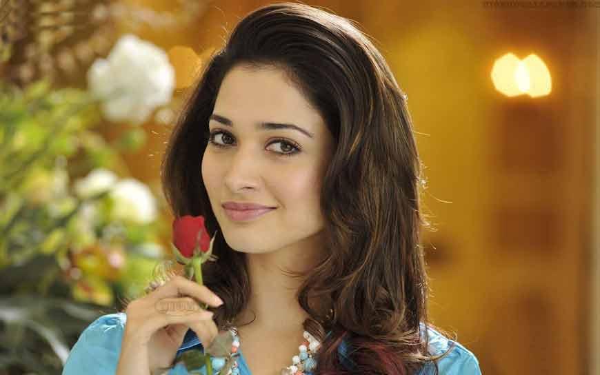 talented actress of bollywood tamanna bhatia desktop wallpapers