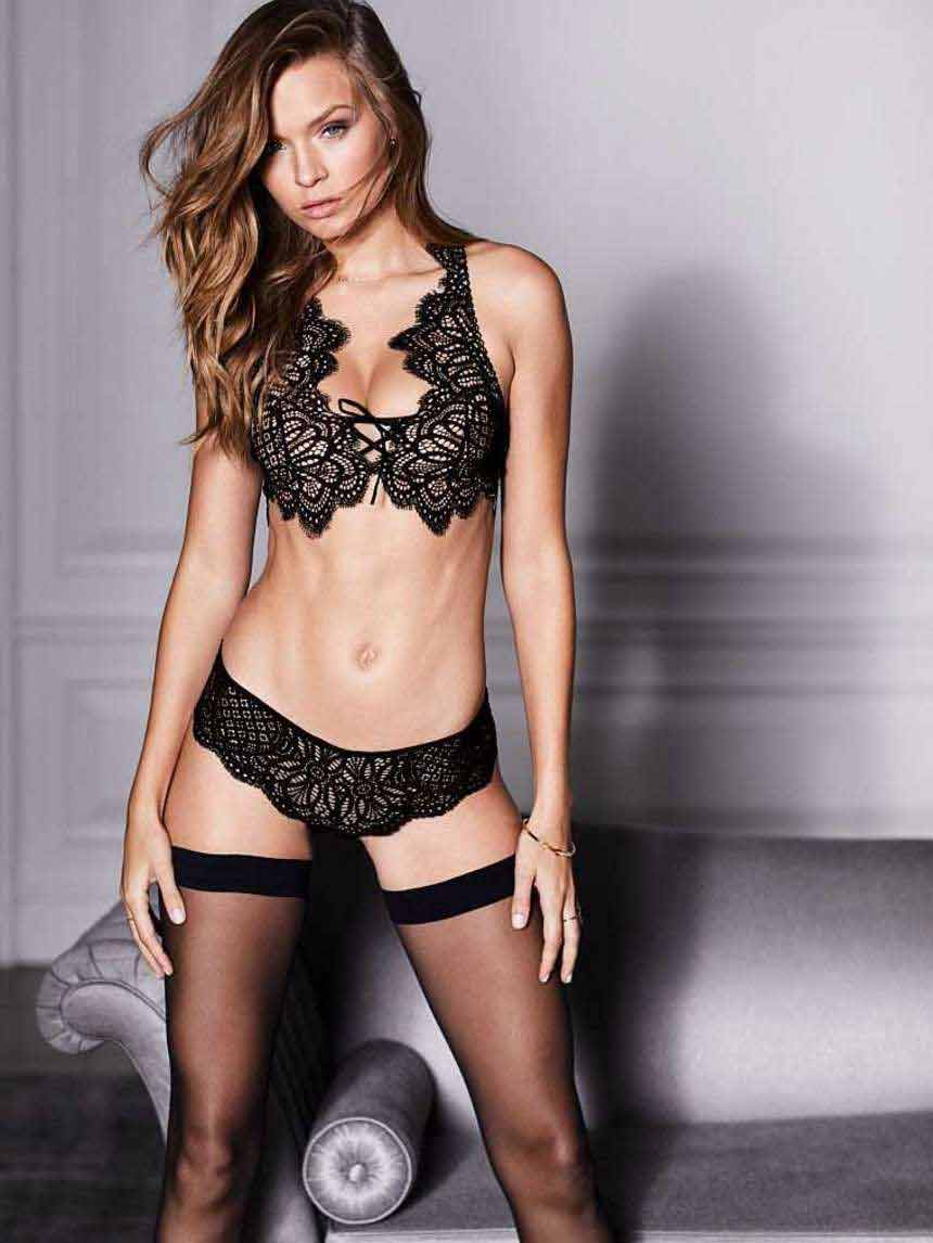 Josephine-Skriver-Lingerie-shoot-Victoria's-Secret-model