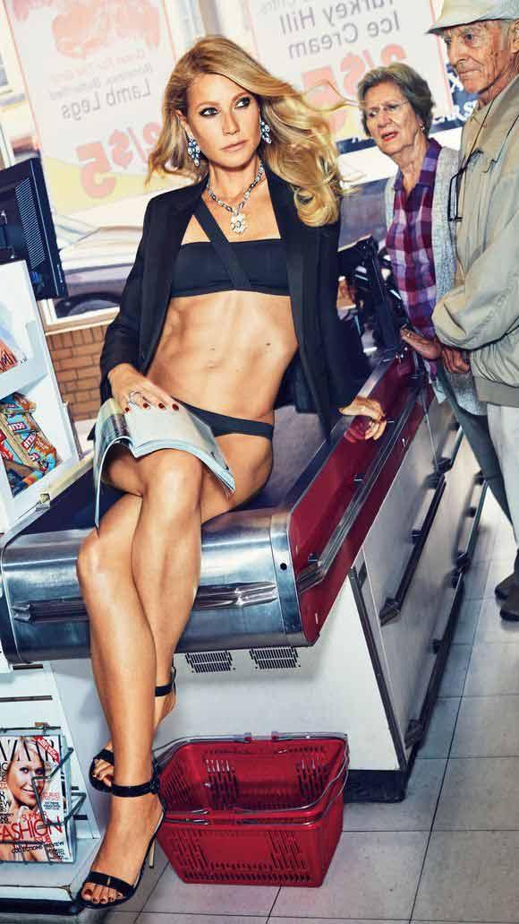hot actress gwyneth paltrow bikini shoot