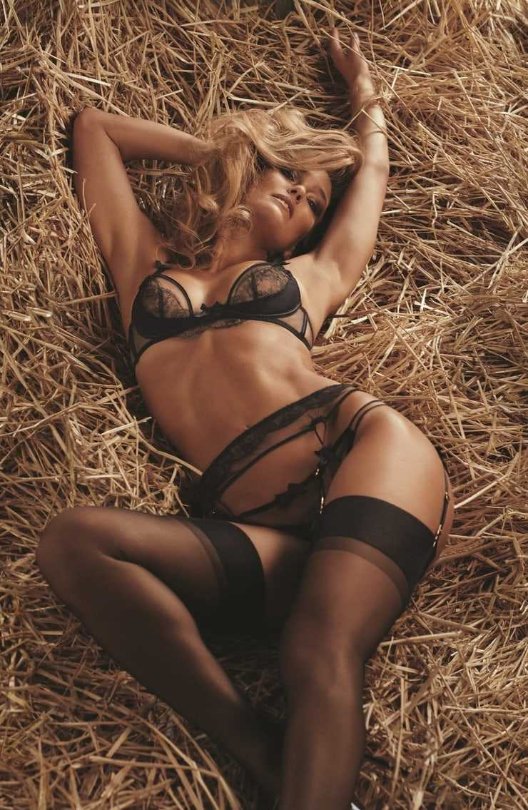 Bar Refaeli Wear See Through Lingerie Hot Body on Display