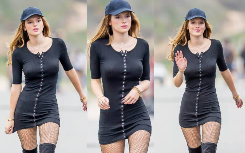 bella-thorne-braless-dress-boobs-nipple-show-pictures