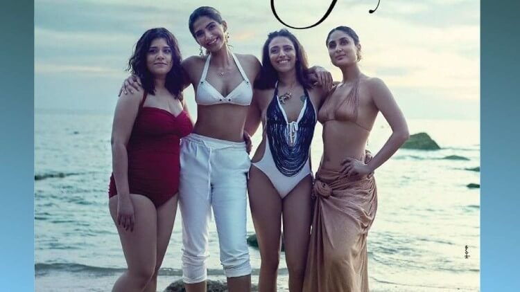 kareena-in-bikini-top-photos-with-veere-di-wedding-cast