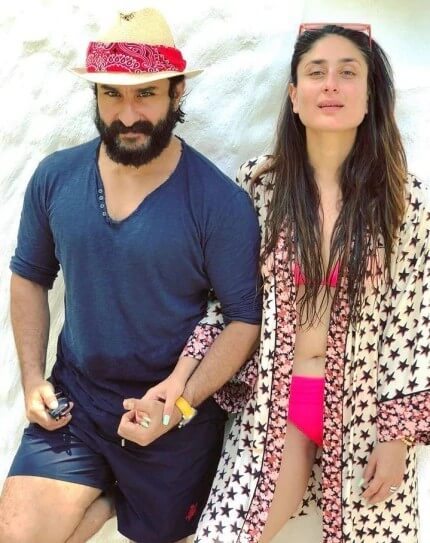 kareena-kapoor-pink-bikini-photos-with-saif-ali-khan