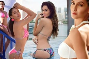 nora-fatehi-bikini-pictures-showing-her-curvy-and-sexy-body