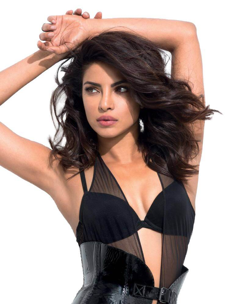 hottest-priyanka-chopra-sexy-boobs-in-black-bikini-top