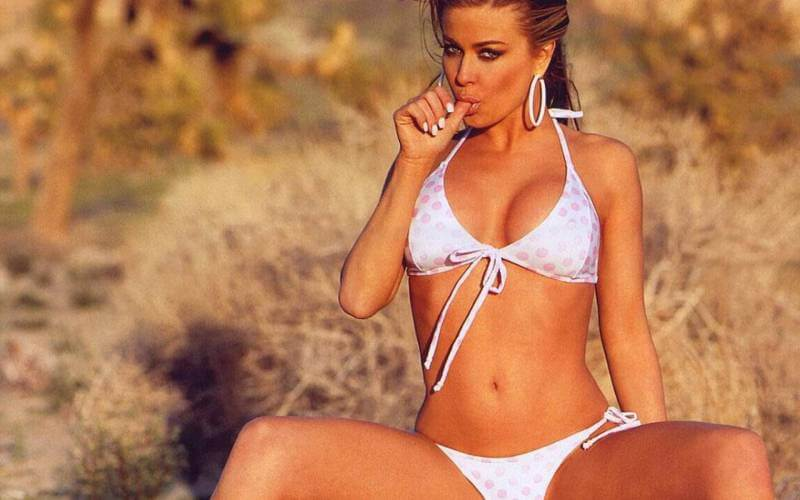 High-resolution-wallpaper-carmen-electra-displays-toned-body-in-bikini