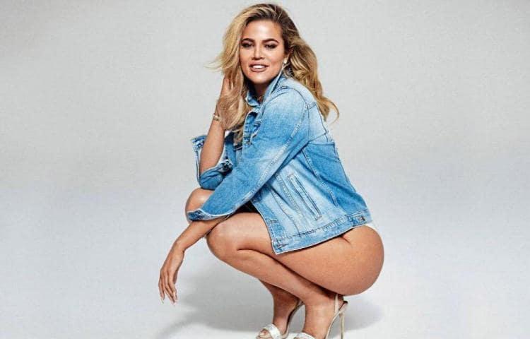 khloe kardashian display her hot ass in photos wearing white panty