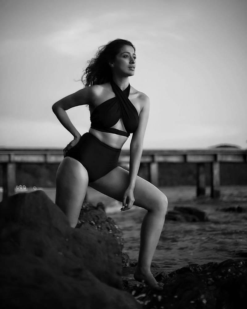 Raai-Laxmi-Instagram-photos-captured-wearing-black-bikini-swimsuit