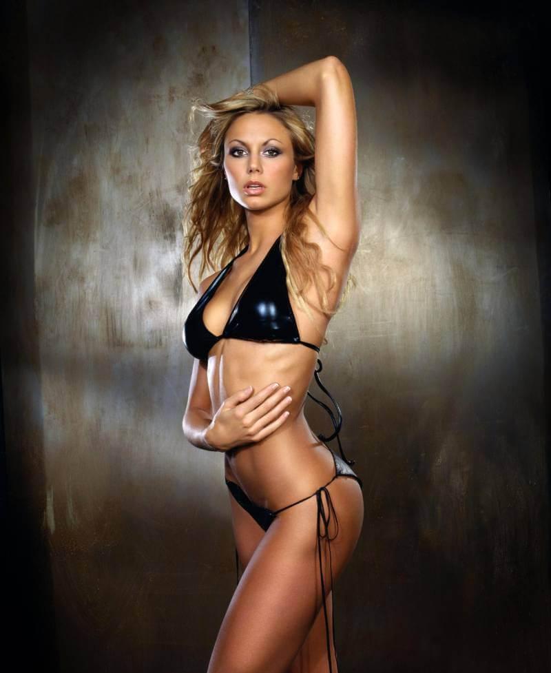 Stacy-Keibler-black-bikini-Stuff-Magazine-photoshoot