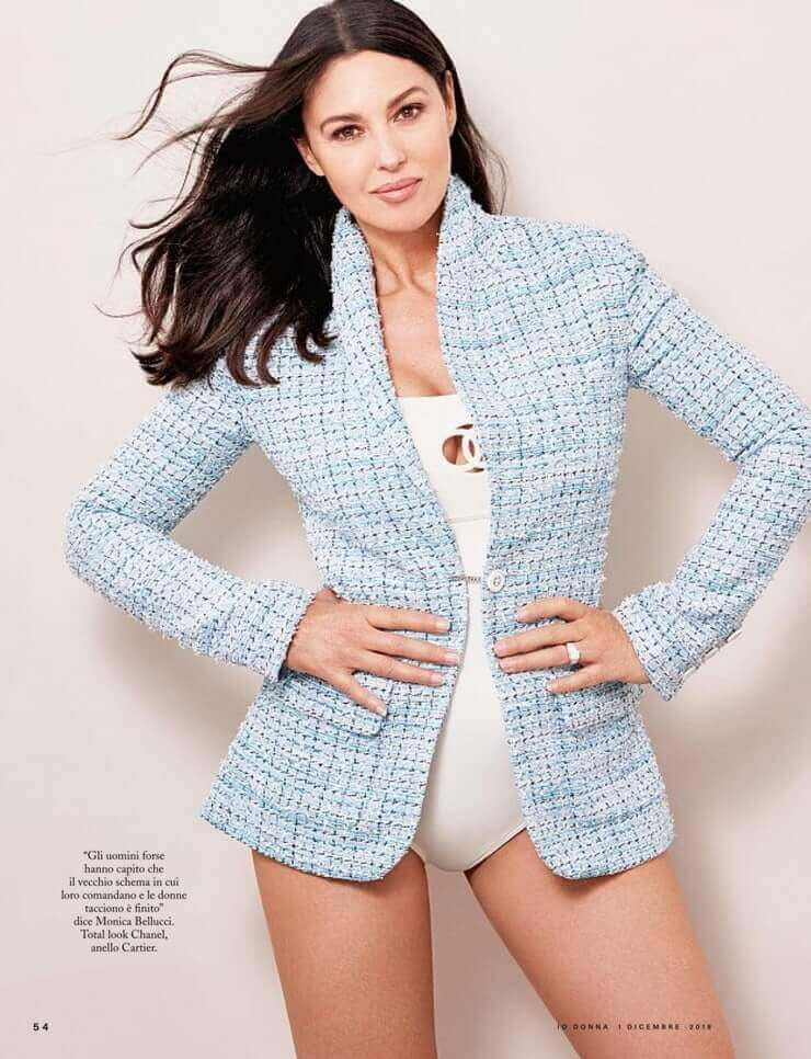 monica-bellucci-hot-photoshoot-wearing-a-bikini-with-jacket