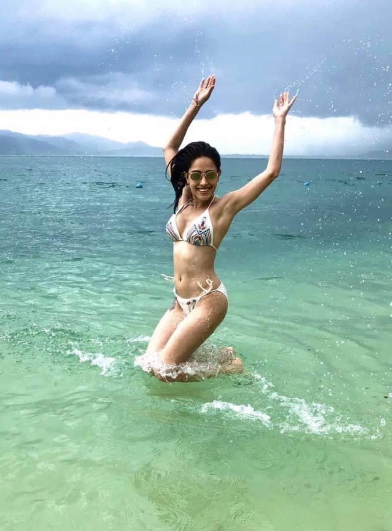 nushrat-bharucha-enjoying-in-bikini-on-beach