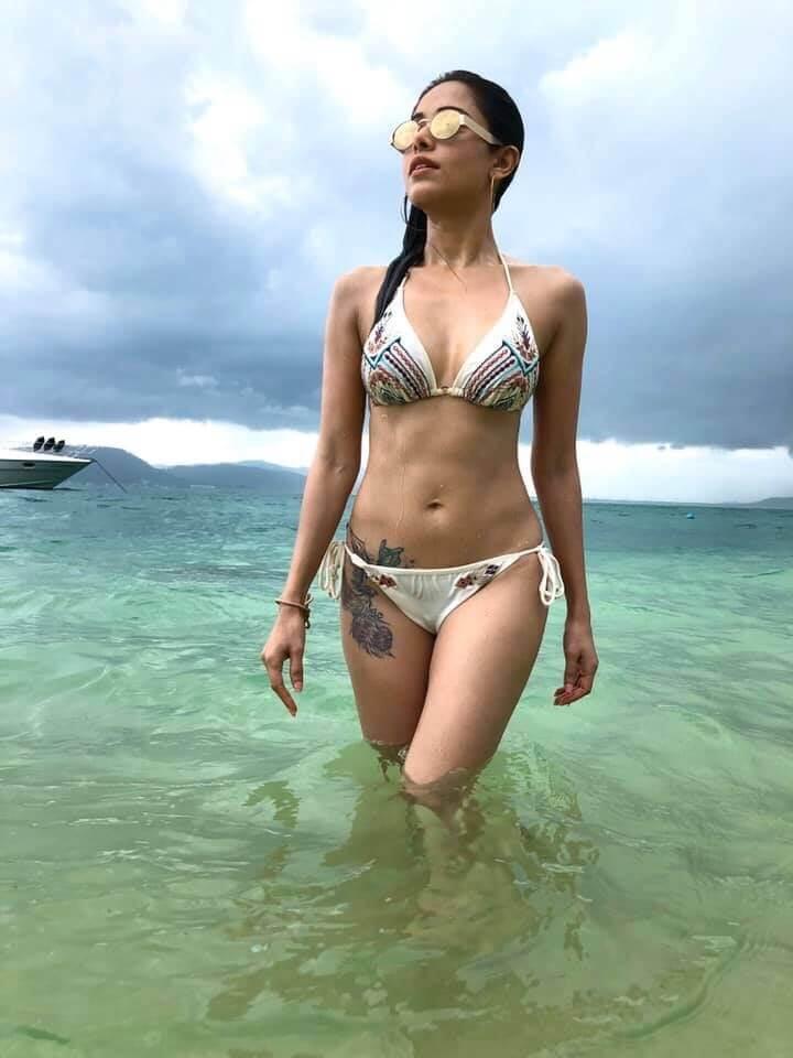 Nushrat Bharucha Bikini Pictures Hot Bollywood Actress Nushrat Bharucha Bikini Images Celebsea
