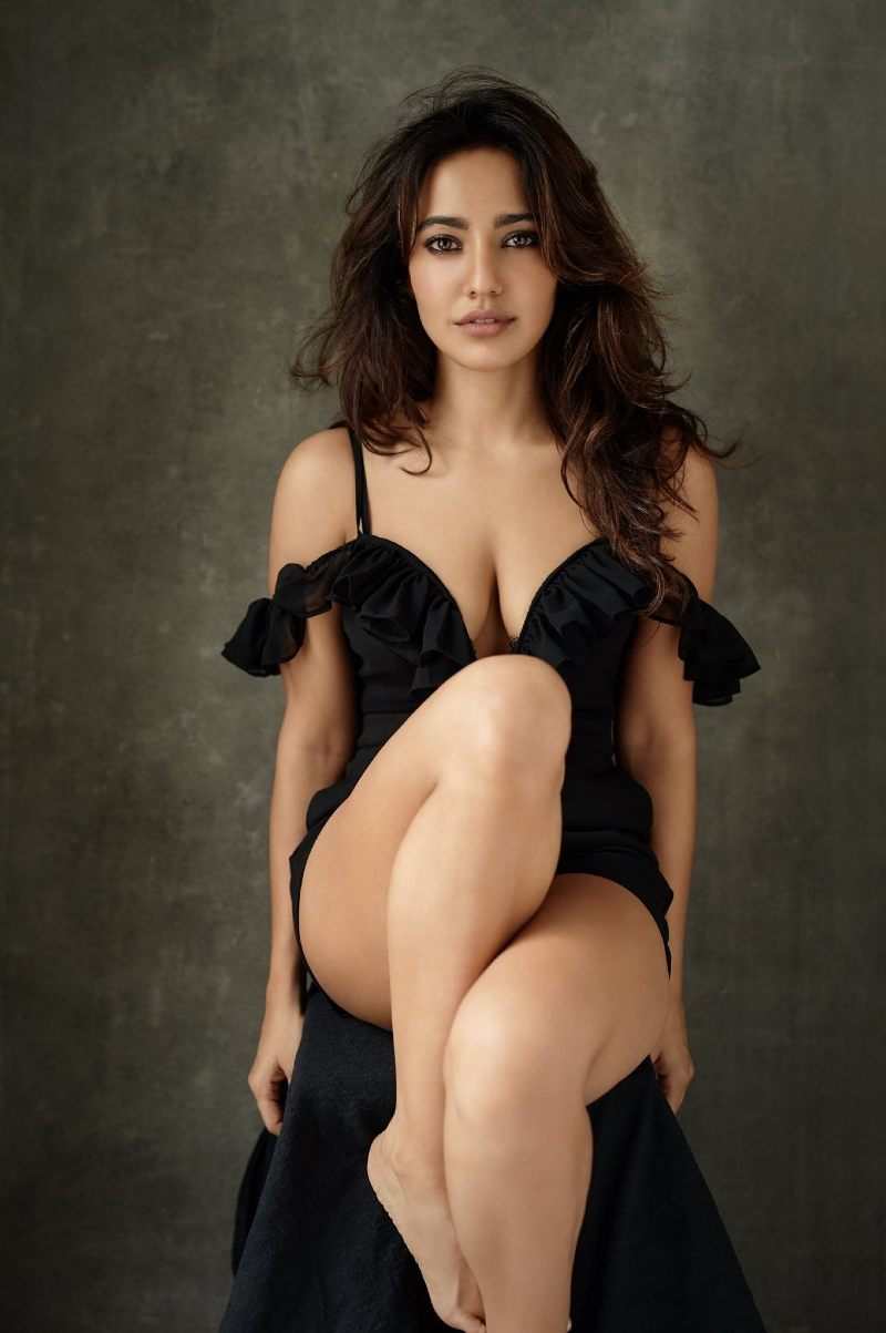 neha-sharma-flaunts-her-hot-figure-in-revealing-outfit-showing-deep-cleavage-and-hot-legs