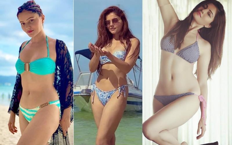 tv-actress-rubina-dilaik-bikini-pictures-photos