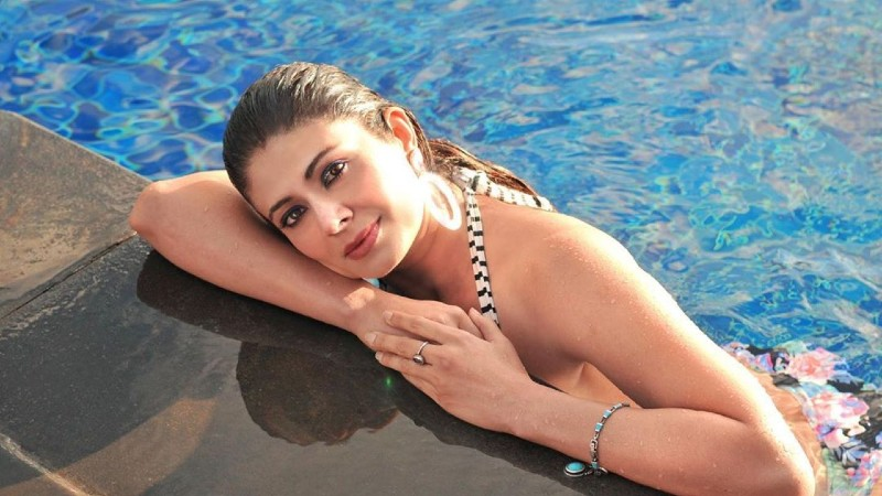 indian-actress-pooja-batra-in-stripped-bikini-posing-for-picture-on-poolside