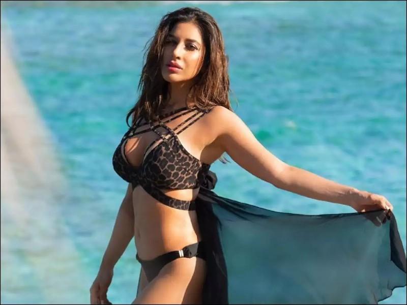 sophie-choudry-in-bikini-shows-her-milky-boobs-on-beach