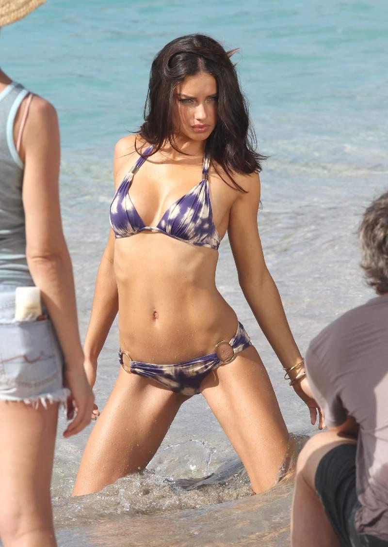 brazilian-model-Adriana-Lima-bikini-photoshoot-posing-in-sexy-look