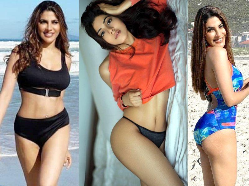indian-actress-nikki-tamboli-bikini-images-pictures-photos